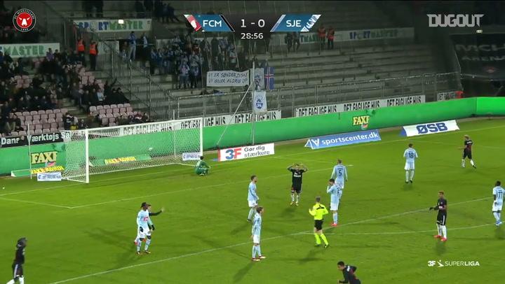 Paulinho'nun SønderjyskE'e Attığı Harika Gol
