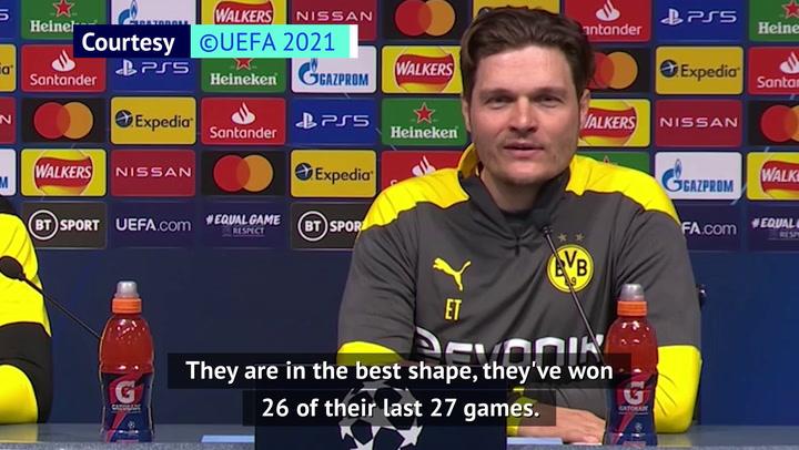 Terzic preparing Dortmund for 'best team in the world' Man City