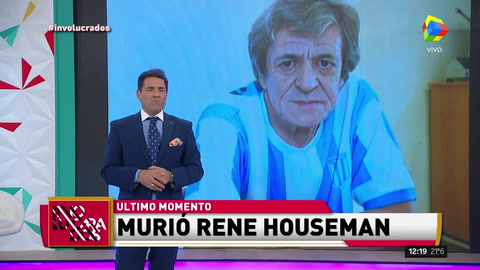 Murió René Houseman