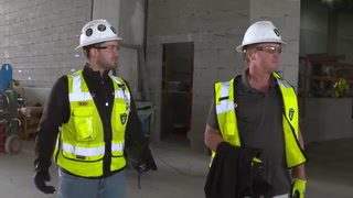 Jon Gruden Tours Allegiant Stadium – VIDEO