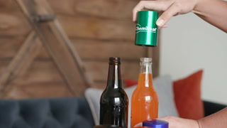 Push Down Aluminum Bottle Opener