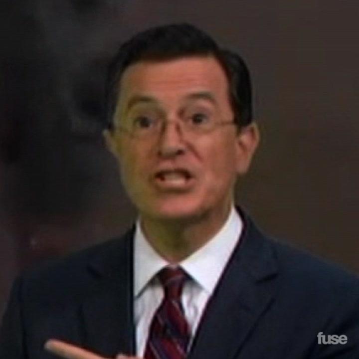 """Colbert Report's Daft Punk """"Get Lucky"""" Dance feat. Jimmy Fallon, Matt Damon, and More"""