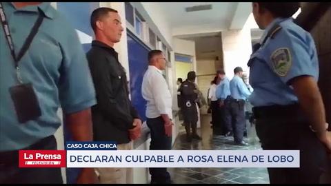 Declaran culpable de ocho delitos de fraude a Rosa Elena de Lobo
