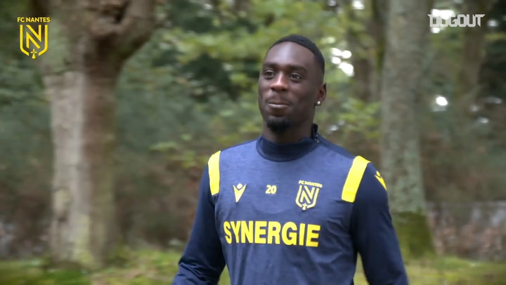 Augustin and Corchia first training session at Nantes