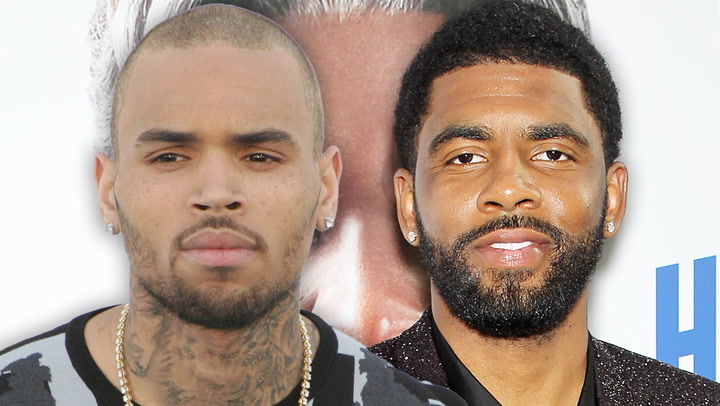 Chris Brown Calls Brooklyn Nets' Kyrie Irving A 'Real Hero' For Vaccine Stance