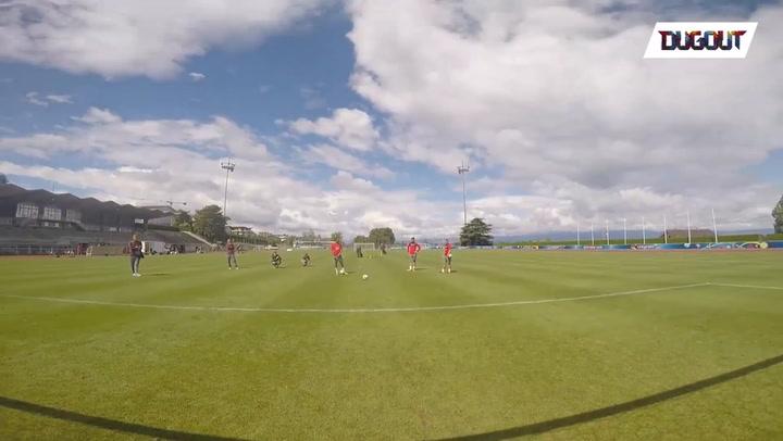 Inside Training: Goalkeeper Chest Cam