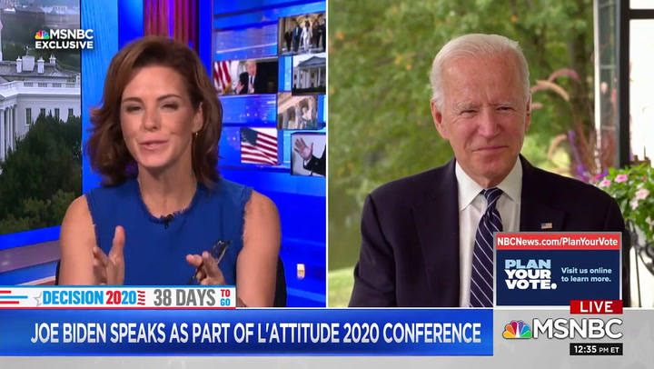 Biden: Trump Is 'Sort of Like Goebbels' -- 'More Castro Than Churchill'