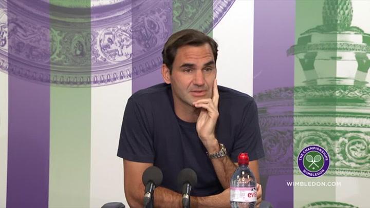 Roger Federer discusses his chances of Wimbledon success