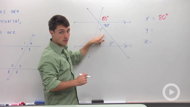 Corresponding Angles - Problem 3