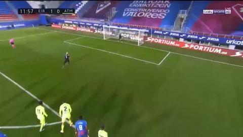 EIbar 1-2 Atlético de Madrid (Liga Española)