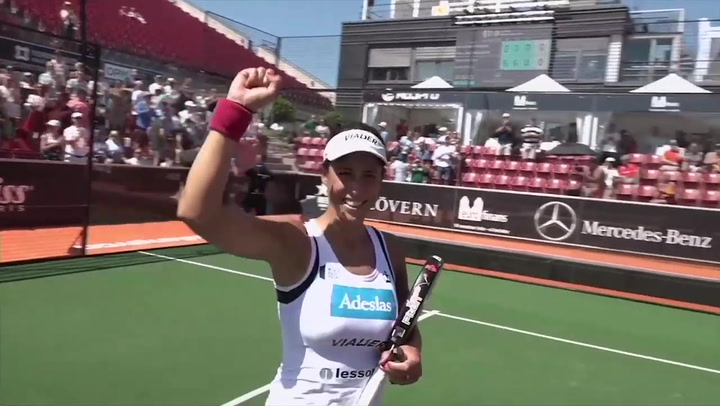 Resumen Final Femenina Marrero/Ortega Vs Josemaría/Nogeira Euro Finans Swedish Padel 2019