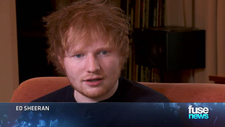 Shows: Fuse News: Ed Sheeran Album Interview