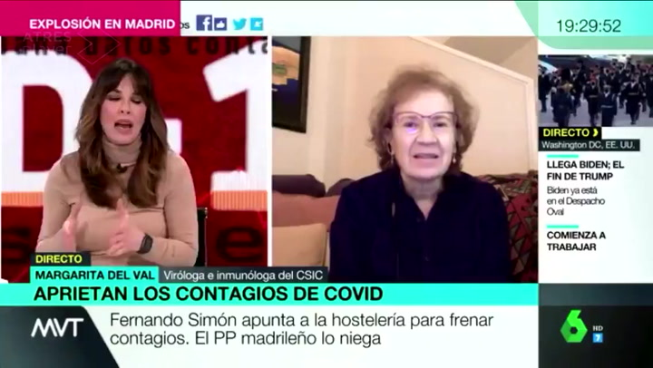 La incómoda pregunta de Mamen Mendizábal que Margarita del Val se ha negado a contestar