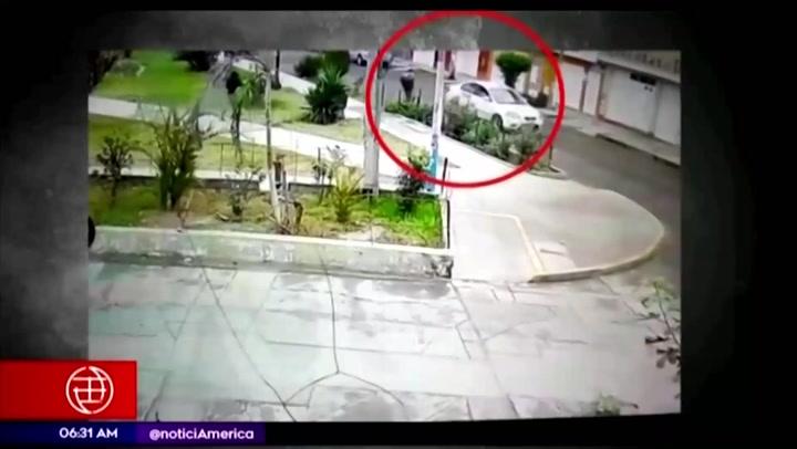 Delincuentes roban productos tecnológicos de tienda en Carabayllo