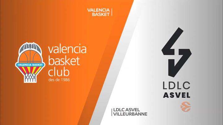 Euroliga: Valencia Basket - LDLC ASVEL Villeurbanne
