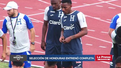 Selección de Honduras entrenó completa bajo las órdenes de Fabián Coito