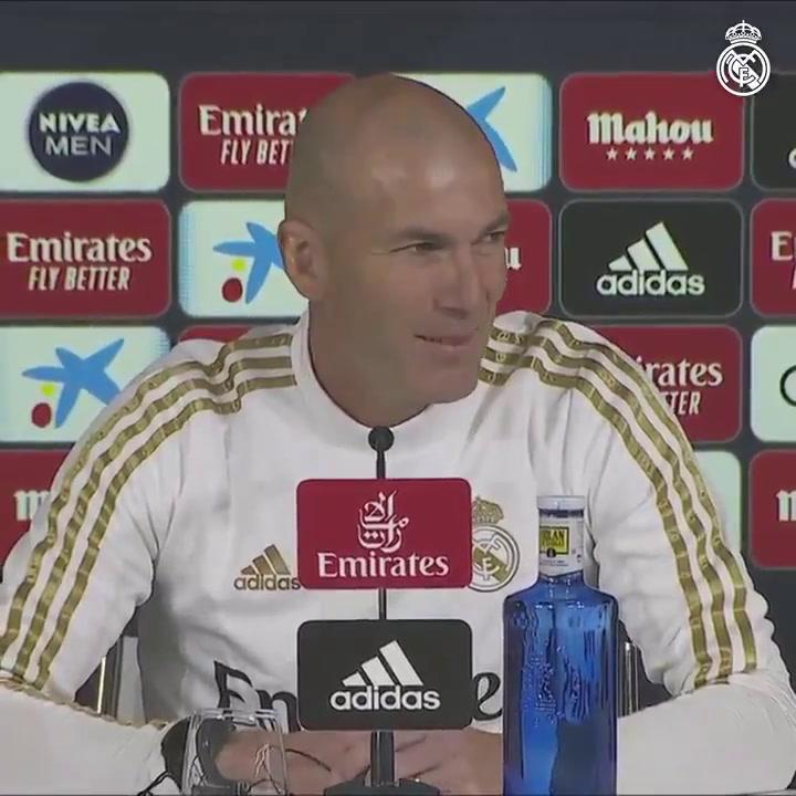 La rueda de prensa de Zidane, previa al Getafe-Real Madrid