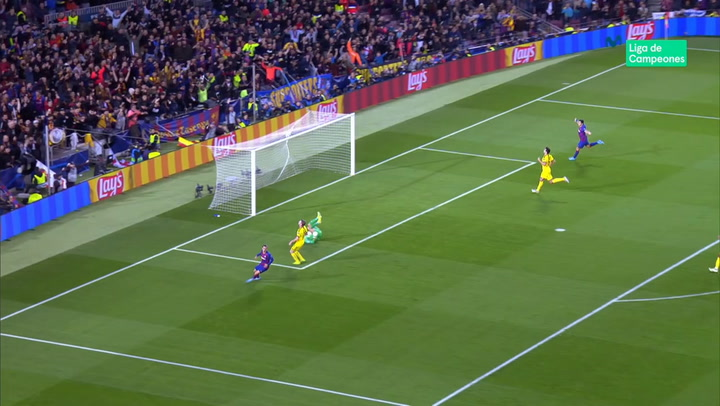 Champions League: Barça - Borussia Dortmund. Gol de Antoine Griezmann (3-0)