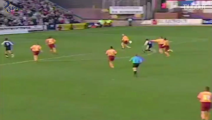 Debut Goals: Claudio Caniggia Vs Motherwell