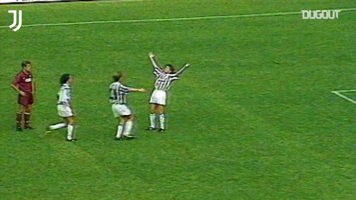 Alessandro Del Piero's first Juventus goal