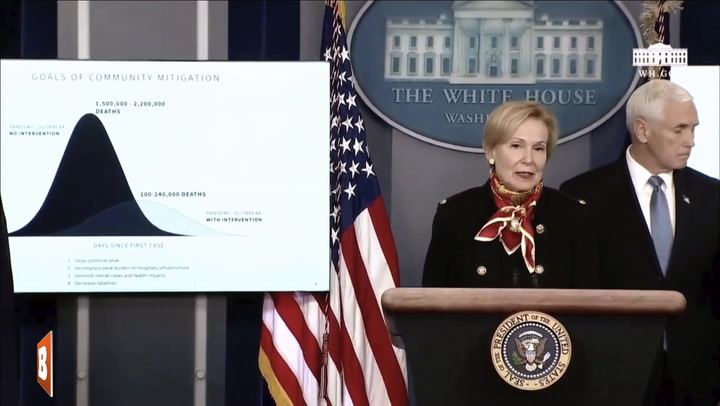 White House Coronavirus Task Force Details Data Predicting 100,000 to 240,000 Deaths in America