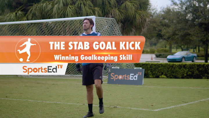 THE STAB GOAL KICK - Winning Goalkeeping Skill • Ages 14+