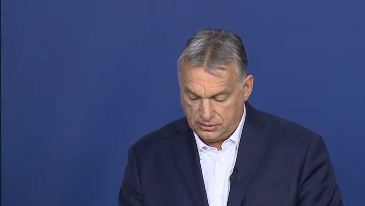 Orbán Viktor a hatpontos gazdaságvédelmi akciótervről