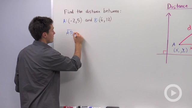 Distance Formula - Problem 1