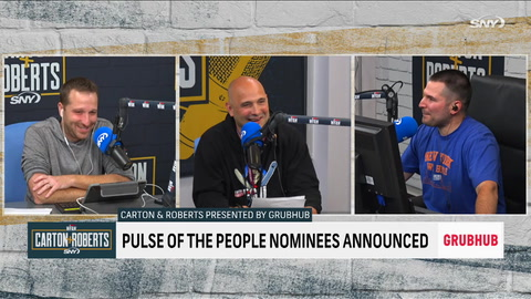 Boomer Esiason joins the guys, talks the 'Pulse of the People' award nominees