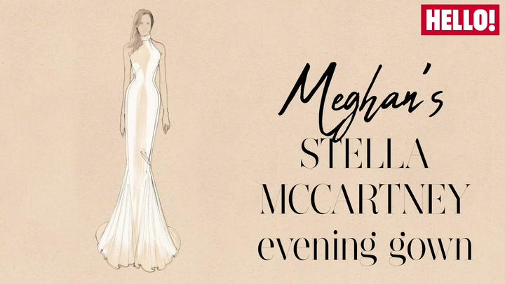 Meghan\'s Stella McCartney Reception Dress comes to life