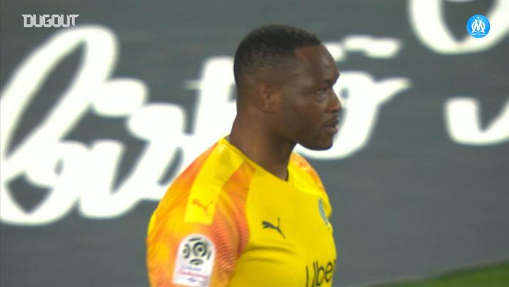 Steve Mandanda's exceptional last minute save against Bordeaux