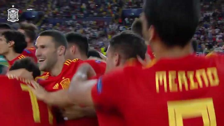 Final Europeo Sub-21: Resumen del España (2) - (1) Alemania