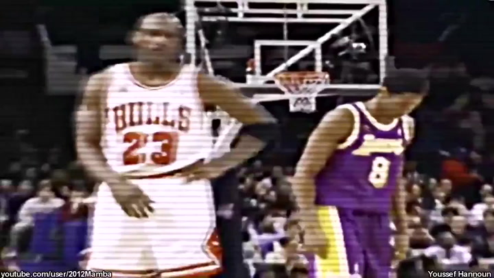 ¡Impresionante! Kobe se fijó tanto en Jordan que se transformaba en él