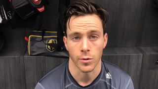 Marchessault's thoughts when Gallant was fired at Florida last season