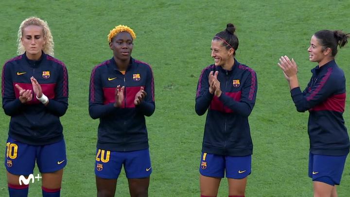 Women's Champions League: Resumen y goles del Wolfsburgo - Barça (1-0)