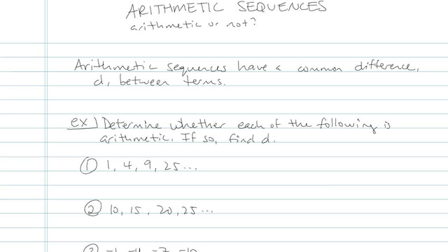 Arithmetic Sequences - Problem 13