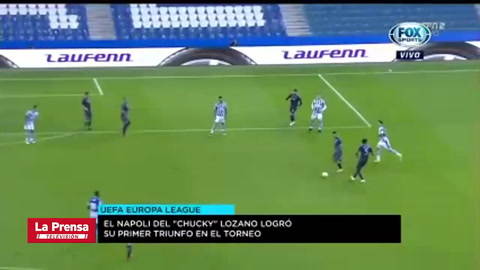 Real Sociedad 0-1 Napoli (Europa League)