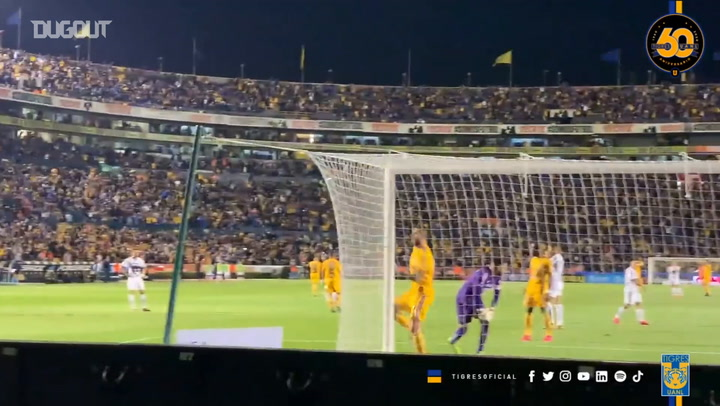 Gignac's superb overhead kick vs Pumas from all angles