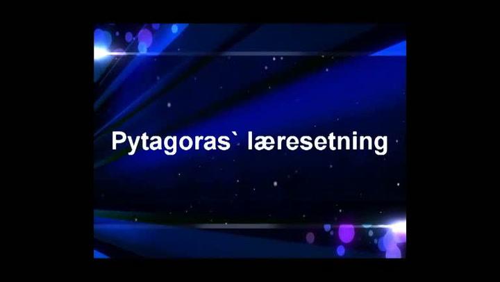 Matte: Hvordan bruke Pytagoras' læresetning