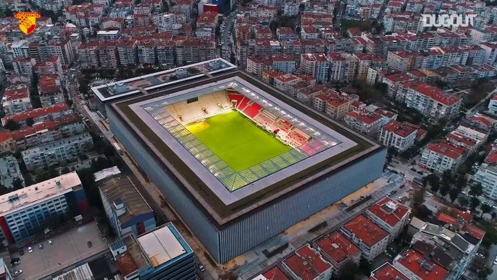 Göztepe'nin Yeni Stadyumu Işıl Işıl