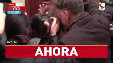 Cristina Fernández declara frente a Bonadio en la causa de los cuadernos