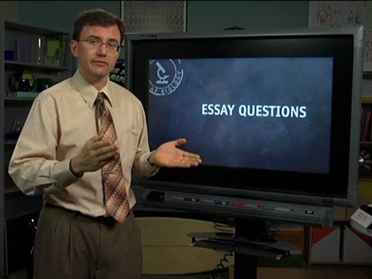 writing the response essay ap biology video by brightstorm
