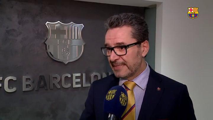 El portavoz del FC Barcelona, Josep Vives, sobre las afectaciones del Covid-19