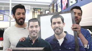 Property Brothers visit Michael's in Las Vegas Valley