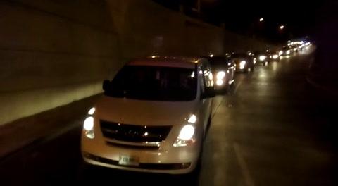 Caravana en honor a José Rafael Ferrari