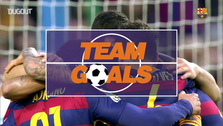 Team Goals: Neymar Vs Granada