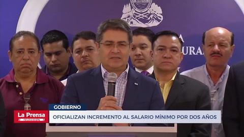Noticiero LA PRENSA Televisión, edición completa del 8-1-2019. Oficializan incremento al salario mínimo por dos años