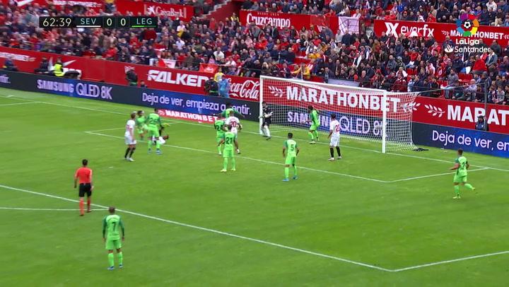 Gol 0100 Sevilla FC - CD Leganés J15 V2