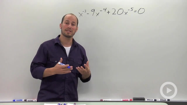 Solving Quadratic Equations in Disguise - Problem 2