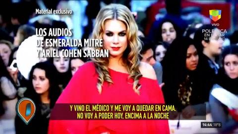 Esmeralda Mitre le respondió la carta a Cohen Sabban